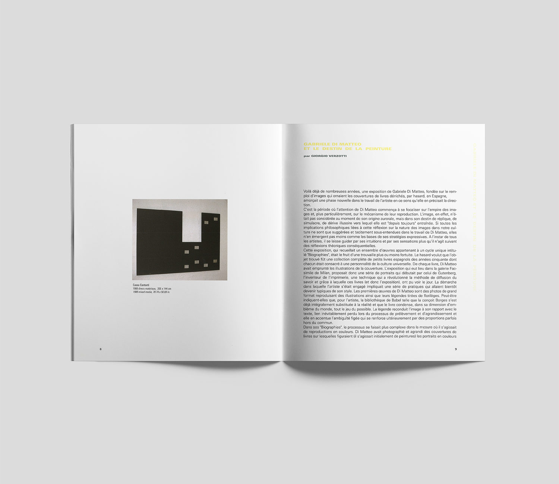 Gabriele Di Matteo œuvres 1986/2002 - Le Grand Café