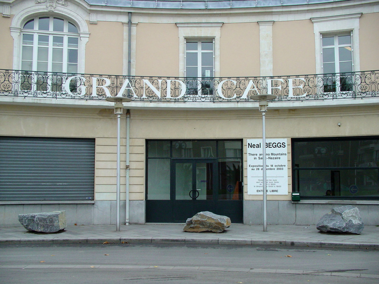 There Are No Mountains in Saint-Nazaire - Le Grand Café