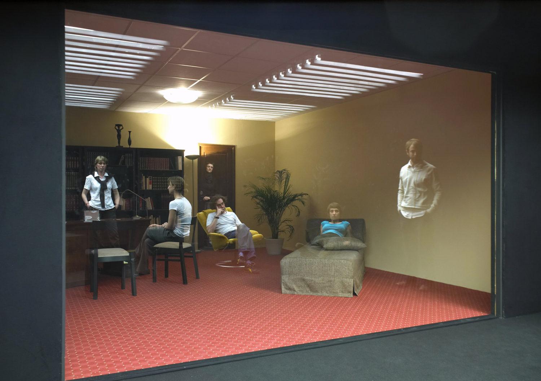 Le cabinet de psychanalyste - Le Grand Café