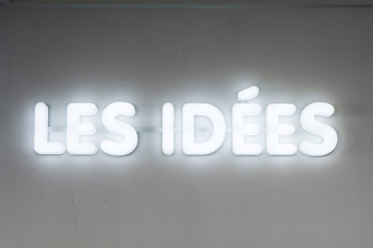 Les idées - Le Grand Café
