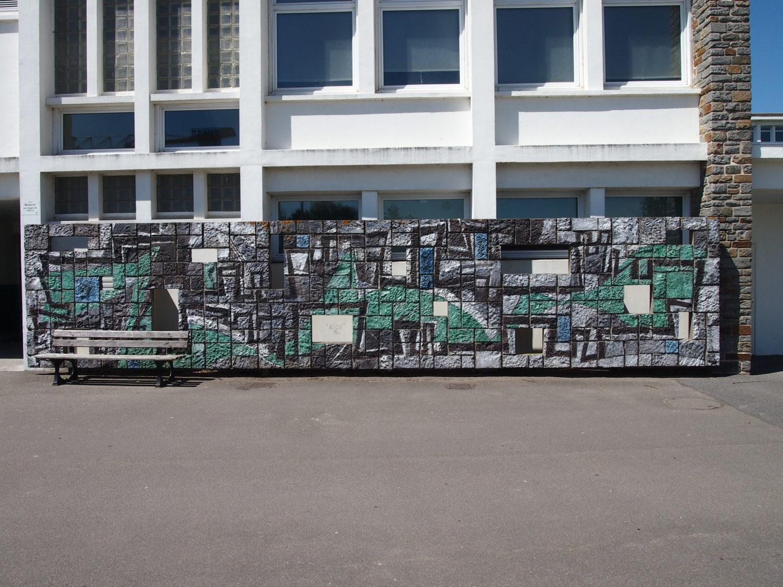 Les oeuvres 1% de la Cité scolaire de Saint-Nazaire - Le Grand Café