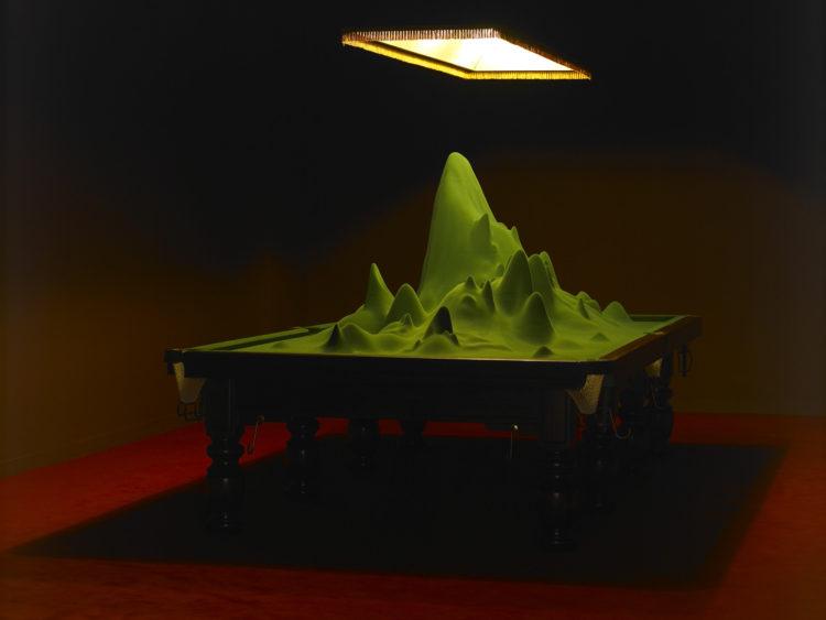 Sans titre ( Veut dire qu'il pourrait très bien, théoriquement, exister au milieu de cette table […]) - Le Grand Café
