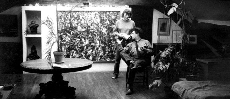 Joan Mitchell et Jean-Paul Riopelle - Le Grand Café