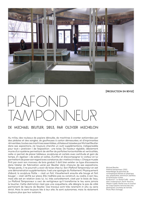Plafond tamponneur - Le Grand Café