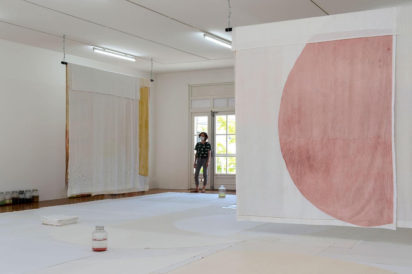 Soleil Blanc I to III, (Floor), (jars) - Le Grand Café