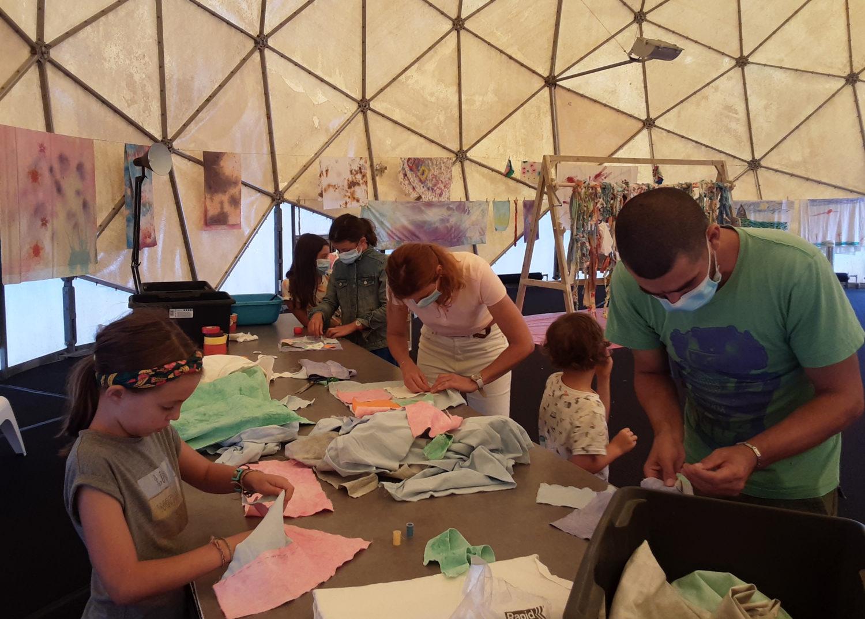 Output from the Radôme workshops / European Heritage Days - Le Grand Café